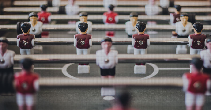 make PhD graduate school a game changer - table football
