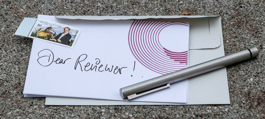 Letter to the peer-reviewer