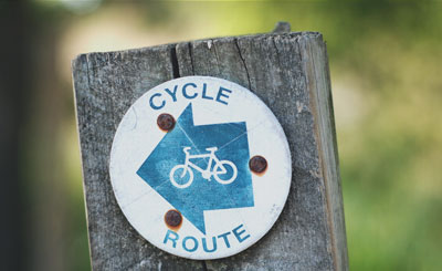 sign-bicycle-route