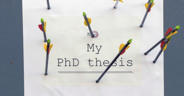 Ten hacks for writing my thesis