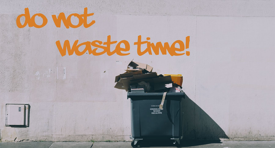 Graffiti do not waste time!